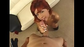 Redhead with big boobs...