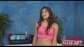 Gorgeous eighteen year old hungarian princess gets drilled hard by her massage therapist