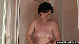 Granny and son-in-law caught by shocked wife