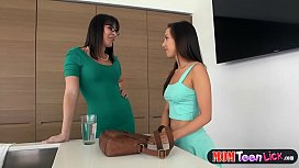 Hot teen gets her...