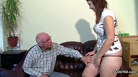 Old-grandfather-seduce-german...