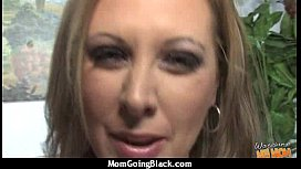 Mature Lady in Interracial Amateur Video 4