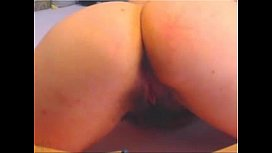 Hottie passionately fucking her hairy asshole on webcam - more videos on CAMSBARN.com