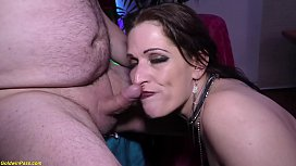 German milf double anal...