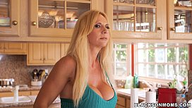Horny MILF takes on...