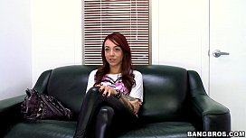 Redhead Babe Casting Couch...