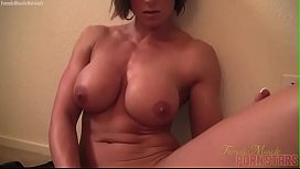 Female muscle porn star...