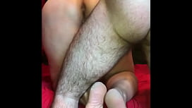 Bbw BJ, Rides, And Takes Hard Doggy Pounding With Toy And Takes Cum Inside Her !