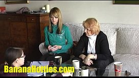 Teen Vendula comes to her 1st casting EVER with her MOM!