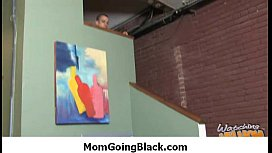 Mom going black - hard interracial porn 3