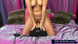 Squirting sybian orgasm from...