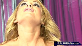 Squirting sybian orgasm from Flower Tucci sex image