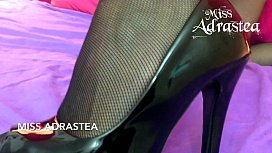 Miss Adrastea black seamed...