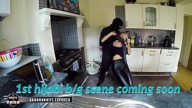 Desi Hijabi Sahara Knite gets rough fucked by a masked robber