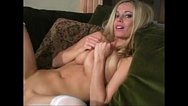 Anita Dark stocking action...
