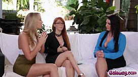 Lesbo Threesome With Angela...