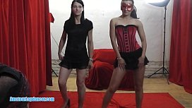 Czech ladies show a...
