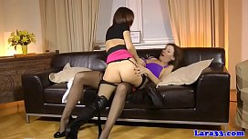 Stockinged british milf sixtynines euro babe