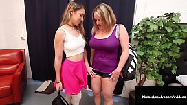 Young Babe Kimber Lee Has 3Some With Sara Jay &amp_ Maggie Green
