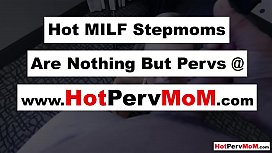 Stepson fucks his busty MILF stepmothers juicy pussy