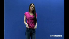 Netvideogirls - Angelica Calendar Audition...