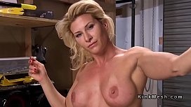 Busty blonde gets fucking...