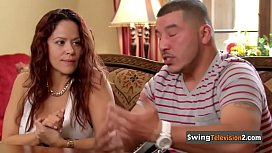 Latin swingers feel very comfortable with the sex partners