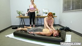 Lauren Phillips massages and fucks with Nathan Bronson