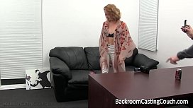 Blonde Stripper First Anal...