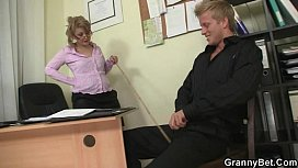 Hot office sex with...