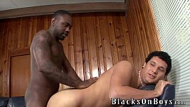 Sky Smith Takes His First Big Black Cock