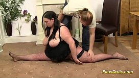 Real flexible fat doll...