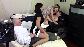 STEP MOM GRINDS s.'_S DICK WHILE STEP d. GRINDS STEP DADDY'_S DICK (FAMILY TABOO)