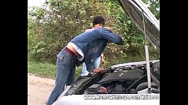 Roadside Assistance Paid With Outdoor Sex