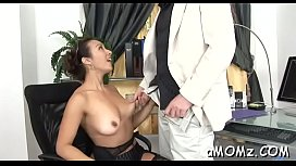 Cheerful mature Diana gets fucked