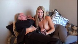 Old man fuck his...