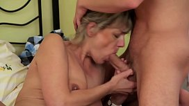MILF GETS FUCKED IN...