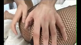 Fishnet Anal Teen From...