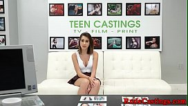 Casting petite teen roughly...