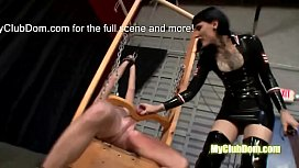 Mistress has no mercy...