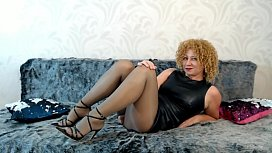 My glossy pantyhose will turn you on!