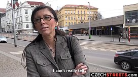 Czech MILF Secretary Picked...