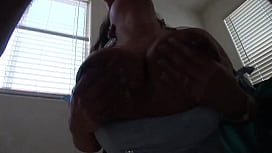 A hot Latina with big tits claims to be screwed in the ass