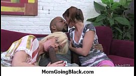 Hot milf takes massibe black cock 23