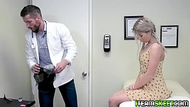 Vienna Rose flips over and lets him plug her with his cock!