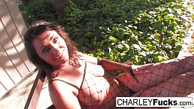 Charley Chase gets her...
