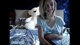 Adorable cam teen with...