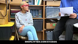 ShopLyfter - Ebony Teen Caught...