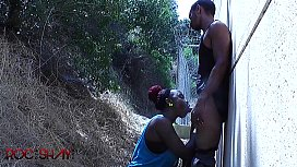 Outdoor Fuck And Swallow...