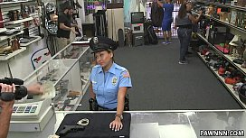 Fucking Ms. Police Officer...